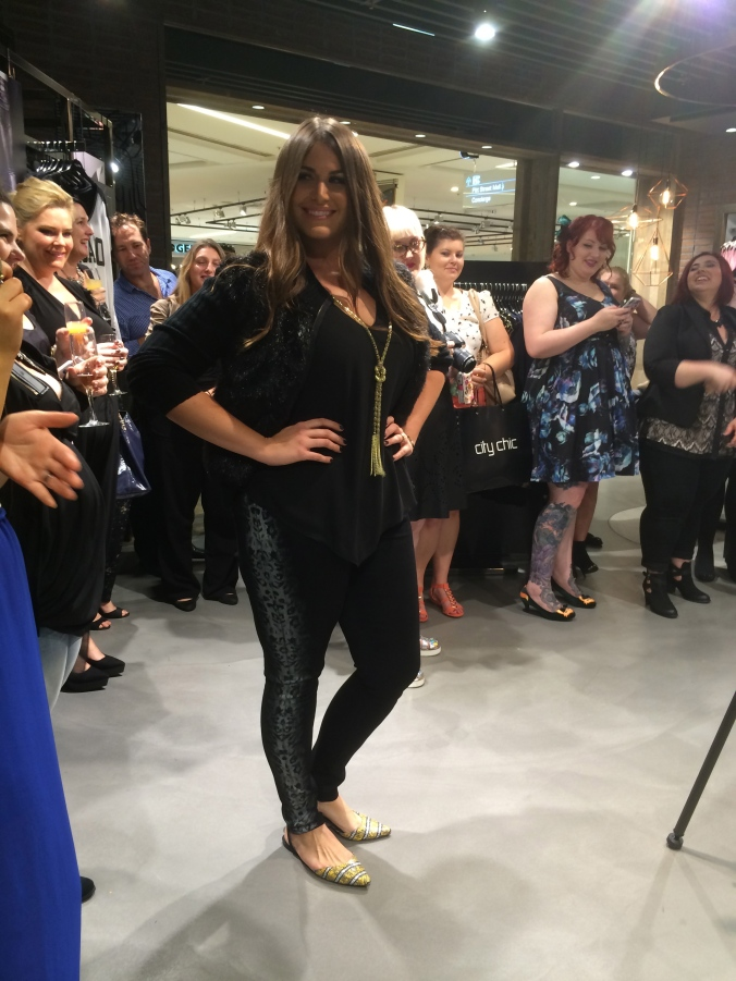 I was invited to the Pitt St City Chic store official opening and got a sneak peek of some of the new styles coming.