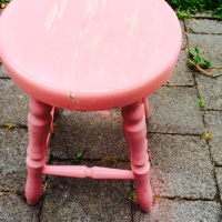 The little pink stool that could