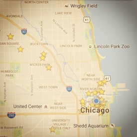 You are here: Chicago.