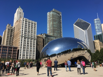 First view of the Bean.