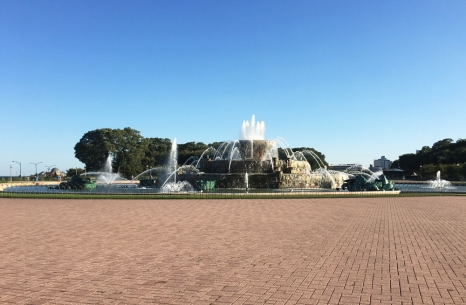 Buckingham Fountain.